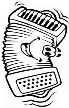 Free music coloring pages for preschool and kindergarten kids with various musical instruments and music related pictures for learning. Free Kids Coloring Pages, Online Coloring Pages, Coloring Pages To Print, Coloring Book Pages, Coloring Pages For Kids, Coloring Sheets, Activity Sheets For Kids, Printable Activities For Kids, Accordion Music
