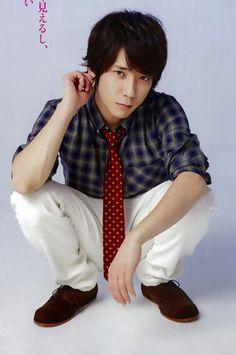 Ninomiya Kazunari♡......OMG!!!! he's sooo hot!!!!!!!!!! pretty please can I have him? :D