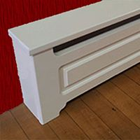 Quality heater covers for baseboard heaters, cast iron radiators and PTAC units