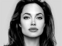 angelina jolie black and white - Buscar con Google