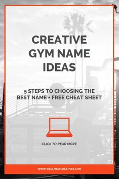150 cool and catchy fitness business names  catchy