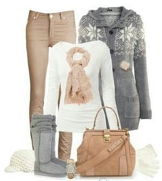 Light Brown & Grey<3