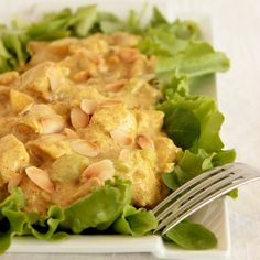 Coronation Chicken - The easy and original recipe - thepetitecook.com