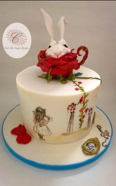Remembering Alice - Cake by Cut The Cake Kitchen