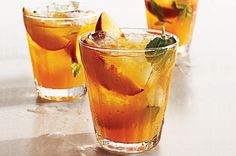 Healthy Summer Cocktails to Quench Your Thirst: Spiked Iced Tea