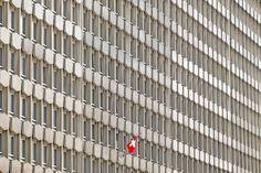 Switzerland, Building, Modern, Concrete, Red Flag #switzerland, #building, #modern, #concrete, #redflag