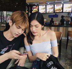 Boy And Girl Best Friends, Boy Or Girl, Cute Couples Goals, Couple Goals, Friend Tumblr, Ulzzang Couple, Asian Actors, Asian Boys, Relationship Goals