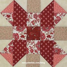 Sewing Block Quilts Fat Quarter Mystery Quilt: November Block of the Month 2017 - Introducing the November Block of the Month Sister's Choice* block is the November Fat Quarter Mystery Quilt Block. Like all blocks in this year's block Big Block Quilts, Quilt Blocks, Hexagon Quilt, Square Quilt, Hexagons, Nancy Zieman, Quilt Block Patterns, Pattern Blocks, Sampler Quilts