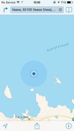 On the boat from Helsinki (Finland) to Talinn (Estonia)