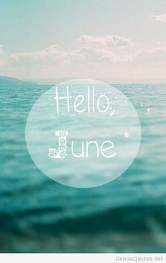 Hello june instagram pic