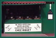 Photo : Question d'honnêteté,  France, Insolite, Panneaux insolites, Fouras. Toutes les photos de Jean-René TUAUD sur L'Internaute