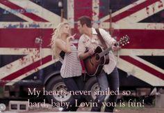 Easton Corbin- Lovin you is fun lyrics