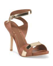 Leather E Tara Sandals