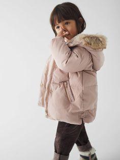 Casaco de Pele Sintética Baby & Child Capuz | Brechó de luxo