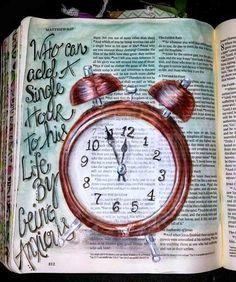 Matthew 627 Luke 1225