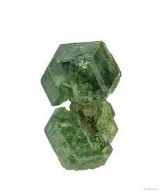 Connected sliver matrix glassy gemmy bright green crystals demantoid