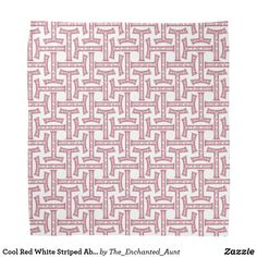 Shop Cool Red White Striped Abstract Pattern Face Mask Bandana created by The_Enchanted_Aunt. Red Pattern, Pattern Design, Print Design, Art Clothing, Hipster Clothing, Hipster Fashion, Text Style, Niece And Nephew, Red And White Stripes