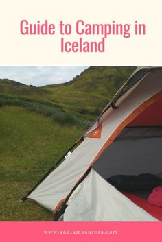 Thinking about camping in Iceland? Explore all of Iceland's regions with your tent! It's a wallet-friendly way to see all that the country has to offer. Colorado Springs Camping, Camping World, What To Pack, Travel Guides, Iceland, Outdoor Gear, Tent, Road Trip, About Me Blog