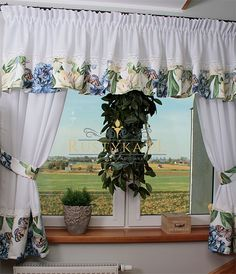 Farmhouse Volance Kurtaines Red And White Kitchen, Valance Curtains, Blinds, Farmhouse, Interior, Design, Home Decor, Curtains For Kitchen, Ideas