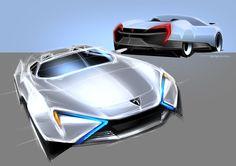 Tesla EV-R Project by Boson, Ruo-Xiang Huang