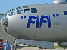 B-29 Fifi's Nose Art by StevenM_61, via Flickr