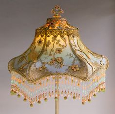 Nightshades - French Lovebirds Victorian Lampshade
