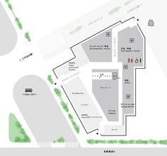 「毎日が家電万博」最新テクノロジーからビンテージものまで、生活の中で家電を使う楽しみをお届けします。ここでは、それぞれの分野に精通したコンシェルジュと呼ばれるス Wayfinding Signage, Signage Design, Map Design, Brochure Design, Book Design, Map Diagram, Navigation Design, Construction Signs, Campus Map