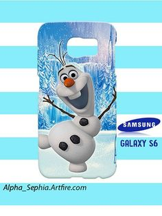 Olaf Frozen Samsung Galaxy S6 Case Cover Hardshell
