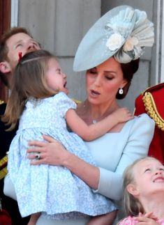 See Kate Middleton's Lightning-Quick Mom Reflexes When Princess Charlotte Falls on the Palace Balcony