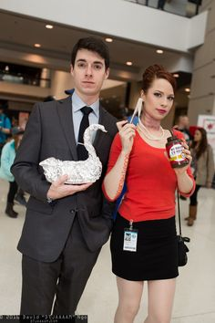 Sterling Archer and Cheryl Tunt