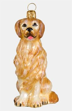 Joy to the World Collectibles 'Golden Retriever' Ornament available at Nordstrom