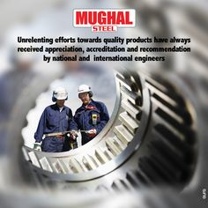 Quality is never an Accident. It is Always the Result of Intelligent Effort.  ‪#‎MughalSteel‬ ‪#‎mughalsupreme‬ ‪#‎material‬ ‪#‎steelbars‬ ‪#‎elasticity‬ ‪#‎infrastructure‬ ‪#‎investment‬ ‪#‎engineers‬  www.mughalsteel.com www.instagram.com/mughalsteel24
