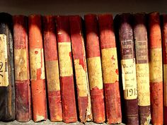 Tattered Vintage French Books