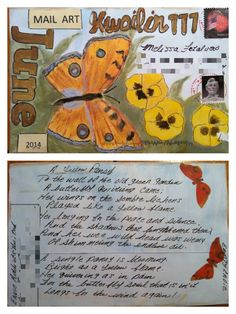 Mail art by Suzie's Art of ATC's For All