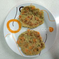 Tortitas de arroz y verduras