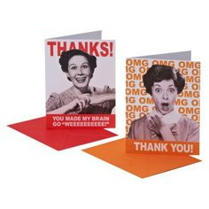 Thank You Card Pack 10 Count CARLTON Thank You