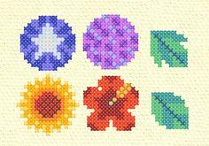 花と葉(夏)
