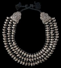Large Cast Silver Mango Horse Trappings  South India  19th century  Inventory no.: 1734