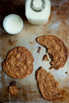 Whole Wheat Chocolate Chip Cookies with Black Walnuts