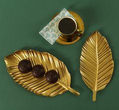 Gullblad i to størrelser. Så fine! #Kremmerhuset #luksus