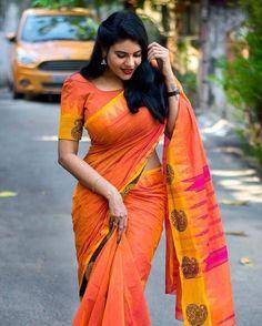 Nivisha (Tamil Serial Actress) Latest HD Saree Photoshoot Images - Studymeter
