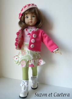 "OOAK Handmade Unique Outfit Little Darling D Effner ""Suzon"" | eBay"
