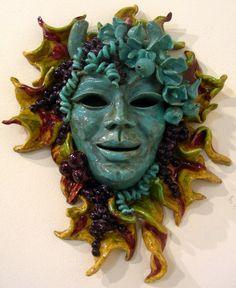 ceramic mask artists - Google Search