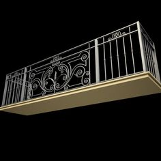 Wrought Iron Balcony 8 Model available on Turbo Squid, the world's leading provider of digital models for visualization, films, television, and games. Balcony Glass Design, Balcony Grill Design, Balcony Railing Design, Window Grill Design, Steel Grill Design, Steel Railing Design, Balcon Juliette, Interior Design Your Home, House Fence Design