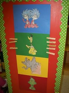Dr. Seuss Theme Classroom - behavior chart