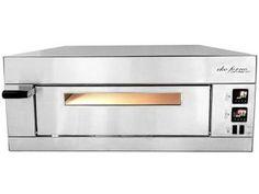 Forno Pizza Industrial 48L Larroyd Inox - Eko Forno 600 com Grill e Timer