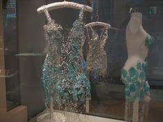 glass dresses