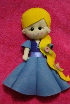 minha pequena Rapunzel