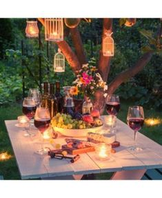 When designing your backyard, don't forget to carefully plan your lighting as well. Get great ideas for your backyard oasis here with our landscape lighting design ideas. Backyard House, Backyard Landscaping, Landscaping Ideas, Pergola Patio, Backyard Plants, Corner Pergola, Backyard Retreat, Pergola Kits, Pergola Carport