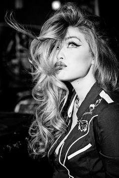 vogue-at-heart:Gigi Hadid by Ellen von Unwerth